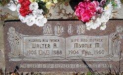 Myrtle Marie <i>Peterson</i> Akin