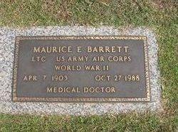 Dr Maurice E Barrett