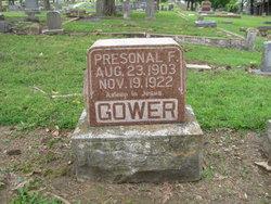 Presonal F Gower