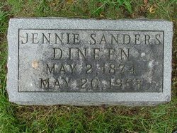 Jennie <i>Sanders</i> Dinneen