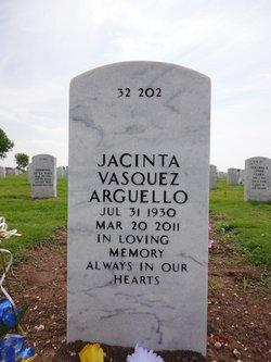 Jacinta <i>Vasquez</i> Arguello