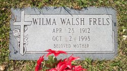 Wilma Louise <i>Walsh</i> Frels