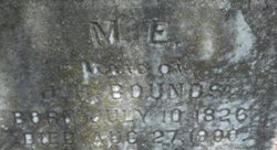 Margaret Emily <i>Wolfe</i> Bounds