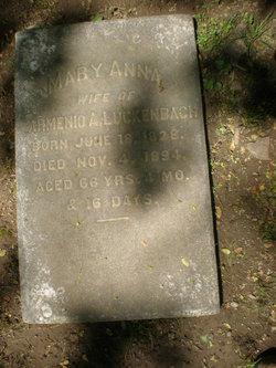 Mary Ann <i>Sheridan</i> Luckenbach