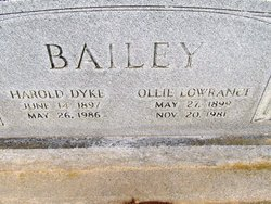 Ollie Catherine <i>Lowrance</i> Bailey