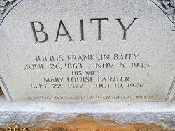 Julius Franklin Baity