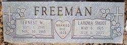 LaHoma <i>Smoot</i> Freeman