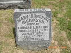 Mary Ironshire <i>Dirickson</i> Harris