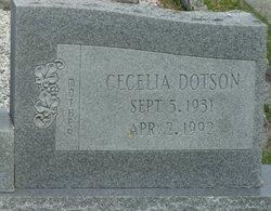 Cecelia <i>Dotson</i> Jones
