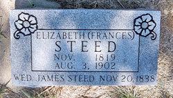 Elizabeth <i>Frances</i> Steed