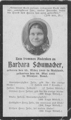 Barbara <i>Dechant</i> Schumaker