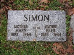 Mary <i>Halligan</i> Simon