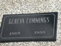 Willie Geneva <i>Davis</i> Cummings