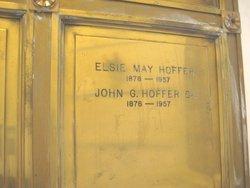 Elsie May <i>Babcock</i> Hoffer
