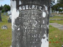 Robert Sanders Anderson