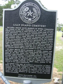 Lilly Island Cemetery