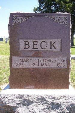 Mary <i>Mahler</i> Beck