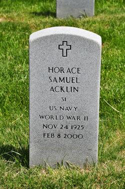 Horace Samuel Acklin