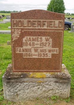 Anna W. Fannie <i>Fagin</i> Holderfield
