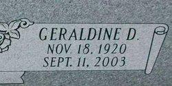 Geraldine <i>Durrence</i> Aborn