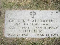 Gerald E Alexander