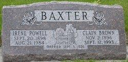 Irene <i>Powell</i> Baxter