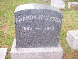 Amanda <i>Wesner</i> Dyson
