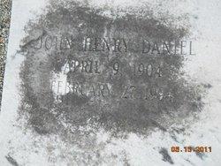 John Henry Daniel