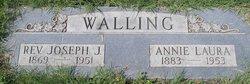 Annie Laura <i>Tabor</i> Walling
