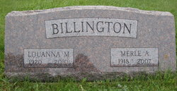 Merle A. Billington