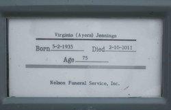 Virginia Ruth <i>Ayers</i> Jennings