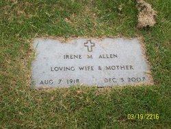 Irene Margaret <i>Barger</i> Allen