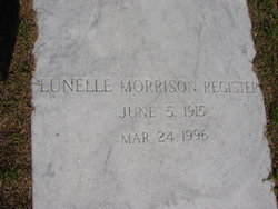 Ella Lunelle <i>Morrison</i> Register