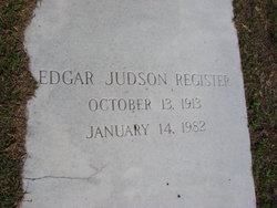 Edgar Jusdon Register, Jr