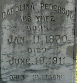 Carolina <i>Pederson</i> Oswald