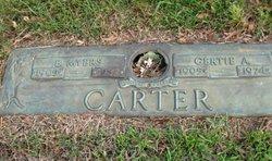 Gertie <i>Amberson</i> Carter