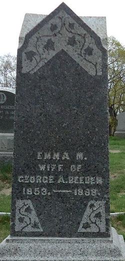 Emma M. <i>Smith</i> Beedem