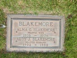 Alma Grace <i>Houghton</i> Blakemore