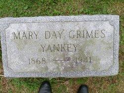 Mary Day Molly <i>Grimes</i> Yankey