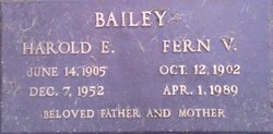 Fern V Bailey