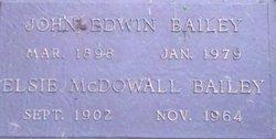Elsie <i>McDowall</i> Bailey