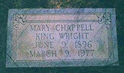 Mary Margaret <i>Chappell</i> King Wright