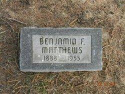 Benjamin F. Matthews