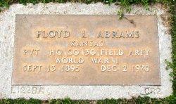 Pvt Floyd L. Abrams