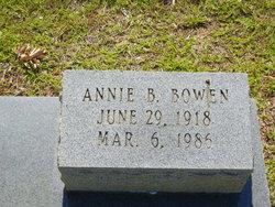Annie B Bowen