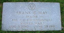PFC Frank Clarence May