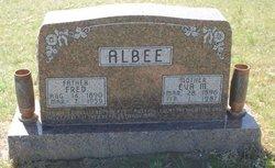 Eva M <i>Marshall</i> Albee