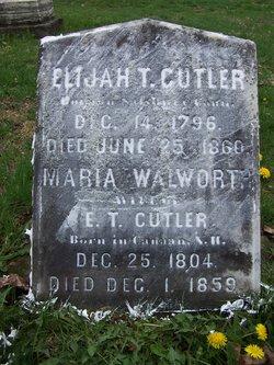Maria <i>Walworth</i> Cutler