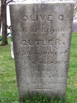 Olive <i>Walworth</i> Cutler