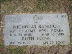 Sgt Nicholas Bandich